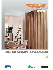Mottura By Vertilux Manual Curtain Track Systems Brochure