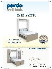Pardo Fold Down Door Wall Bed Mechanism Brochure