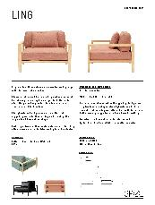 Ling Armchair Product Information Sheet