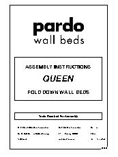 Queen Fold Down Wall Bed Instructions 2013