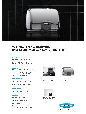 QuietDry High-Speed Surface-Mounted Hand Dryer Brochure