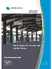 Railcorp Signs and Bike Parking brochure