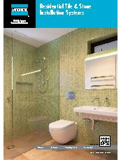 Residential Tile and Stone Installation Systems Brochure