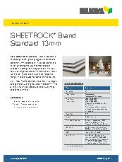 Sheetrock® Brand Standard 13 mm Brochure