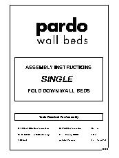 Single Fold Down Door Wall Bed Instructions 2013