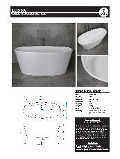Solid Surface Stone Baths Brochure