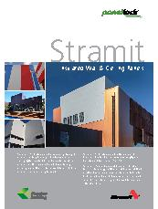 Stramit PanelLock Insulated Wall and Ceiling Panels Brochure
