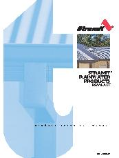Rainwater Gutters And Drainage Products By Stramit