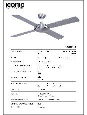 Stratus Specification Sheet
