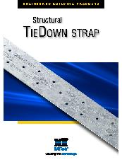 Structural TieDown Strap Brochure