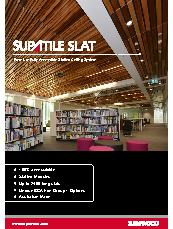Supatile Slat Brochure