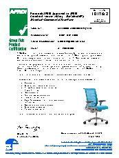 Think task chair AFRDI Green Tick Product Certification