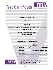 Tonina stacking chair FIRA test certificate BS EN 16139 Test Level 1