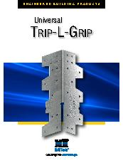 Universal Trip-L-Grip Timber Framing Anchor Brochure
