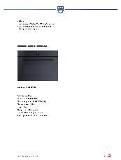V-ZUG Miwell-Combi XSL 450 mm microwave, oven and grill brochure