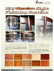 Wooden Style finish brochure