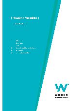 Woodn Screening - Versatilis - Technical Brochure